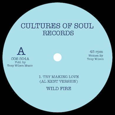 WILDFIRE / TRUTONES TRY MAKING LOVE / DANCING Vinyl Record