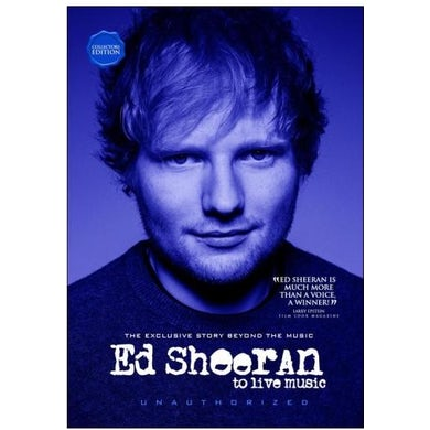 Ed Sheeran TO LIVE MUSIC DVD
