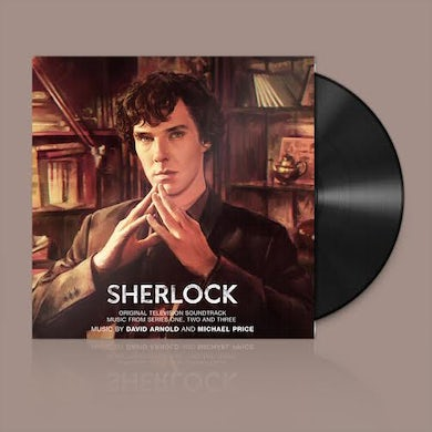 David Arnold / Michael Price SHERLOCK SERIES 1-3 / TV O.S.T. Vinyl Record