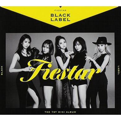 FIESTAR BLACK LABEL (1ST MINI ALBUM) CD