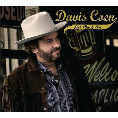 Davis Coen GET BACK IN Vinyl Record