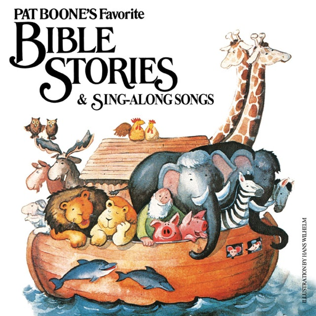PAT BOONE'S FAVORITE BIBLE STORIES & SING-ALONG CD