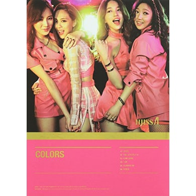 Miss A COLORS (THE 7TH PROJECT) CD