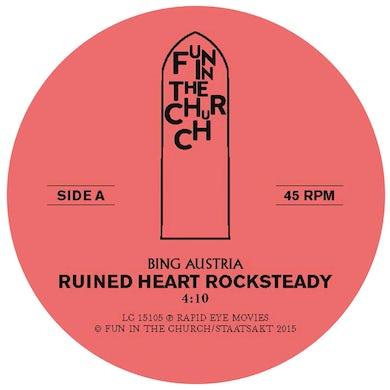 BING AUSTRIA RUINED HEART (ROCKSTEADY) Vinyl Record