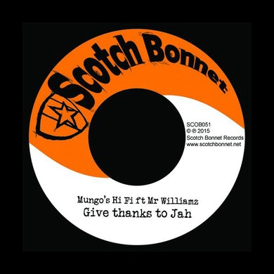 Mungo's Hi Fi GIVE THANKS TO JAH Vinyl Record - UK Release