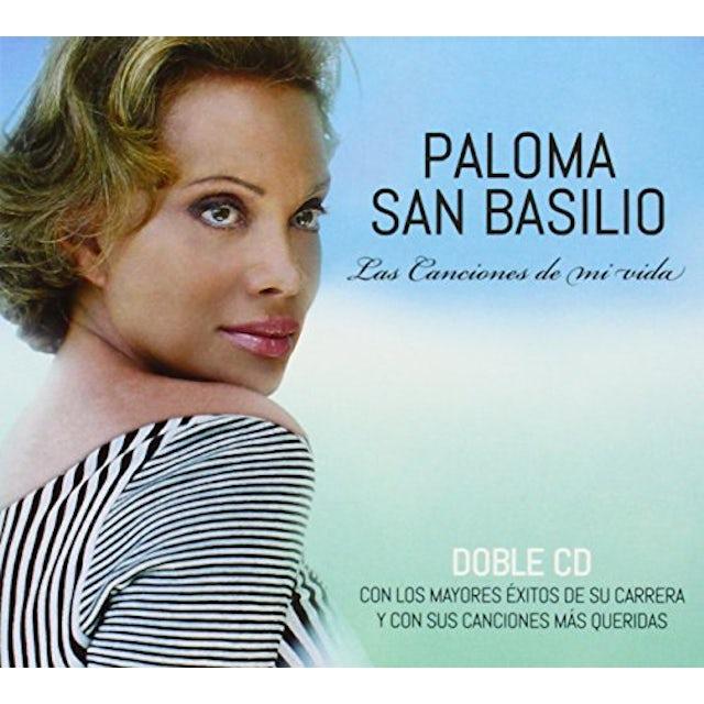 Paloma San Basilio LAS CANCIONES DE MI VIDA CD