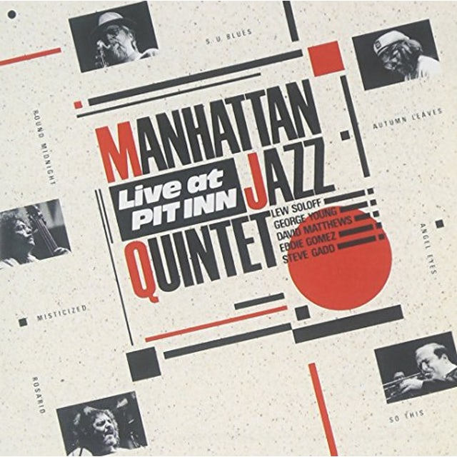 Manhattan Jazz Quintet LIVE AT PIT INN CD