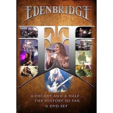 Edenbridge DECADE & A HALF THE HISTORY SO FAR DVD