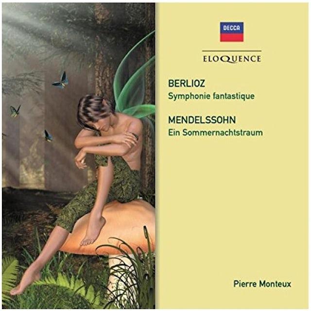 Pierre Monteux BERLIOZ: SYMPHONIE FANTASTIQUE. MENDELSSOHN CD