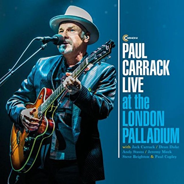 Paul Carrack LIVE AT THE LONDON PALLADIUM CD