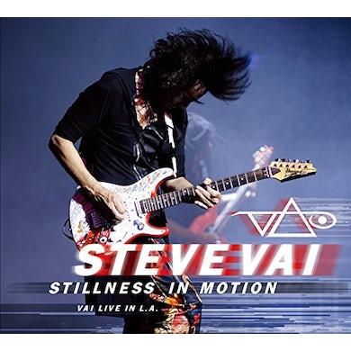Steve Vai STILLNESS IN MOTION: VAI LIVE IN LA CD