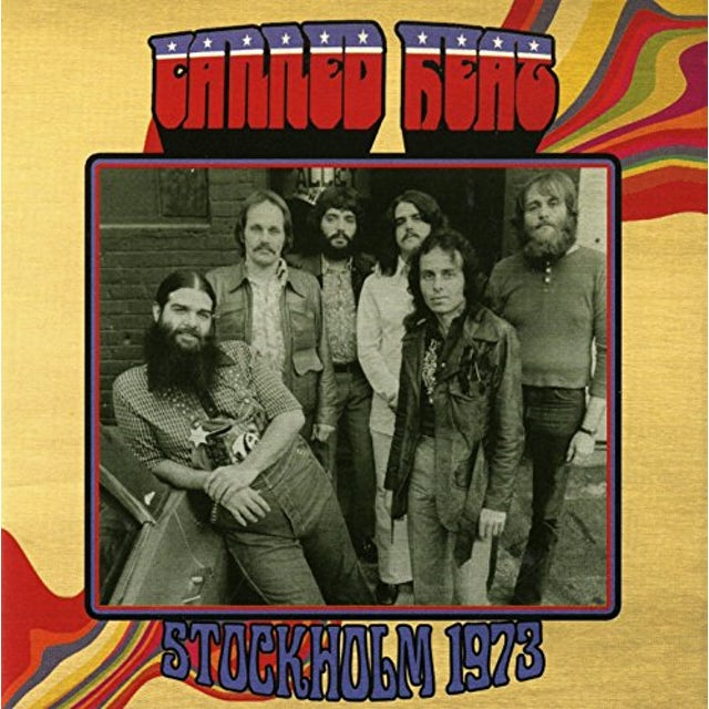 Canned Heat STOCKHOLM 1973 CD