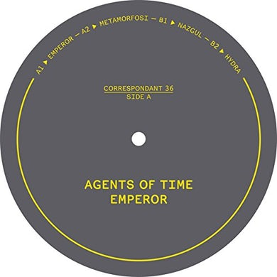 Agents Of Time EMPEROR Vinyl Record