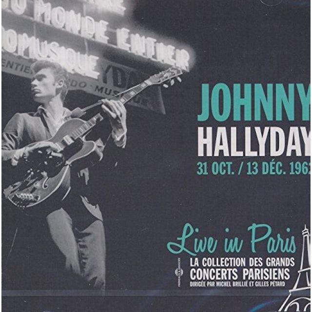 Johnny Hallyday LIVE IN PARIS 31 OCTOBRE & 13 DECEM CD