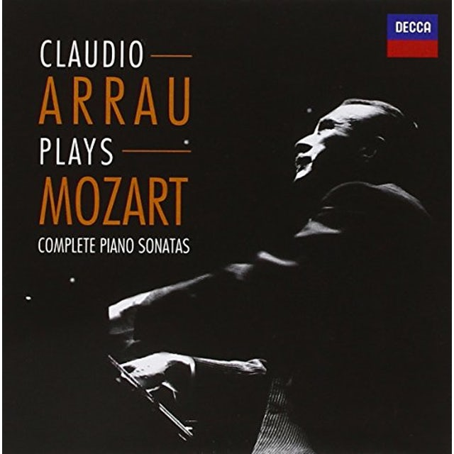 Claudio Arrau COMPLETE PIANO SONATAS (MOZART) CD