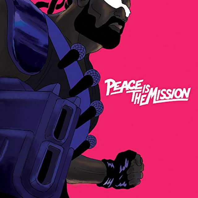 Major Lazer PEACE IS THE MISSION Vinyl Record