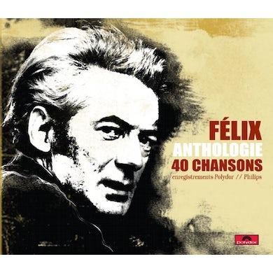 Felix Leclerc ANTHOLOGIE 40 CHANSONS CD