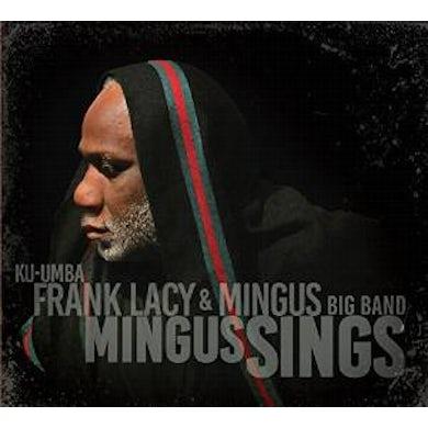 Frank Lacy & Mingus Big Band MINGUS SINGS CD