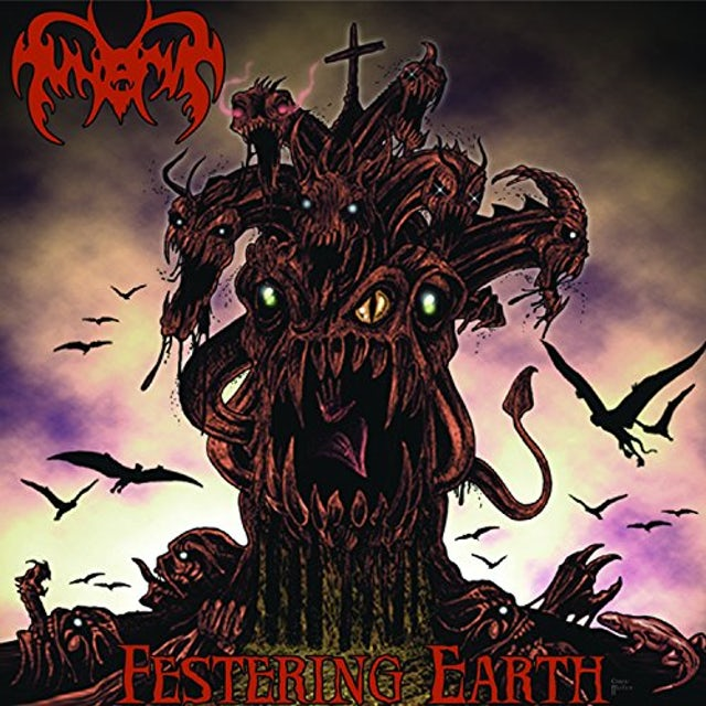 Funerus FESTERING EARTH CD