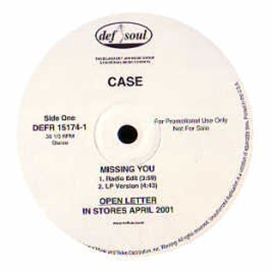 Case MISSING YOU Vinyl Record