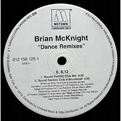 Brian Mcknight 6 8 12 INCHES Vinyl Record