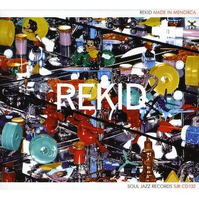 Rekid MADE IN MENORCA CD
