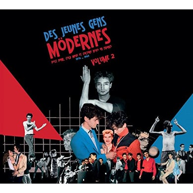 DES JEUNES GENS MODERNES: POST PUNK COLD 2 / VAR CD