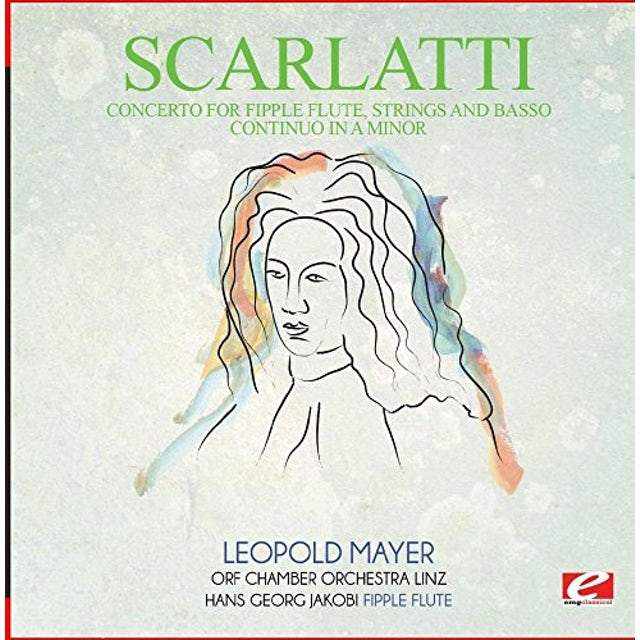 Scarlatti ALLEGRO FROM CONCERTO FOR FIPPLE FLUTE STRINGS CD