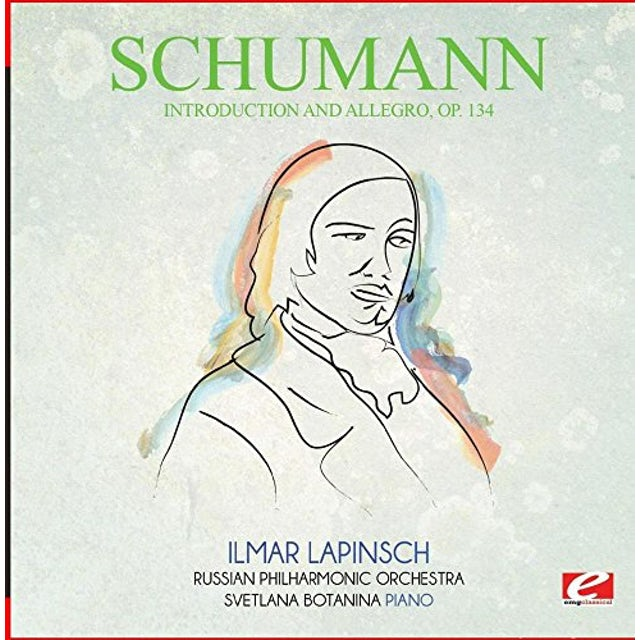 Schumann INTRODUCTION AND ALLEGRO OP. 134 CD