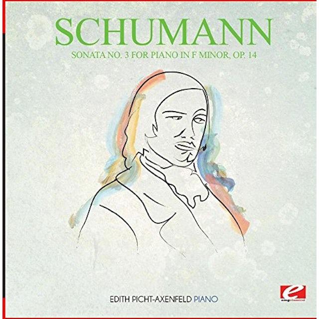 Schumann PIANO SONATA NO. 3 IN F MINOR OP. 14 CD