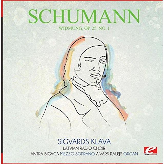 Schumann WIDMUNG OP. 25 NO. 1 CD