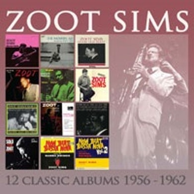 Zoot Sims 12 CLASSIC ALBUMS: 1956-1962 CD