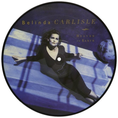 Belinda Carlisle HEAVEN IS A PLACE ON EARTH Vinyl Record