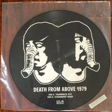 Death From Above TRAINWRECK 1979 Vinyl Record - Canada Release