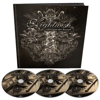 Nightwish ENDLESS FORMS MOST BEAUTIFUL: EARBOOK EDITION CD
