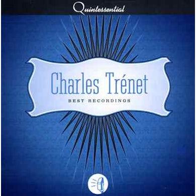 Charles Trenet BEST RECORDINGS CD
