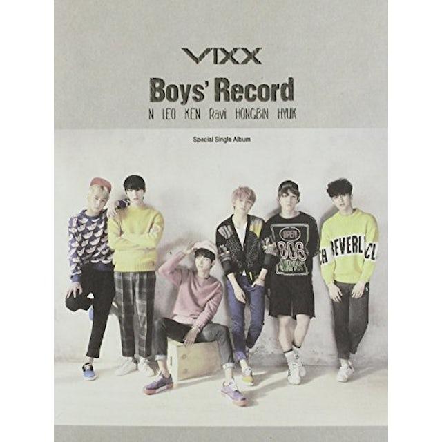 VIXX BOYS' RECORD CD