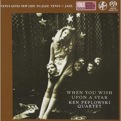 Ken Peplowski WHEN YOU WISH UPON A STAR-TENO CD