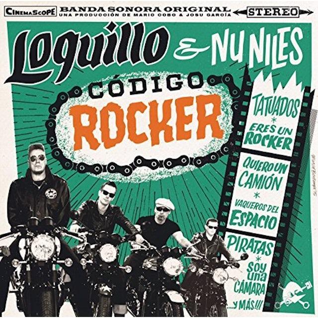 LOQUILLO & UN NILES CODIGO ROCKER CD