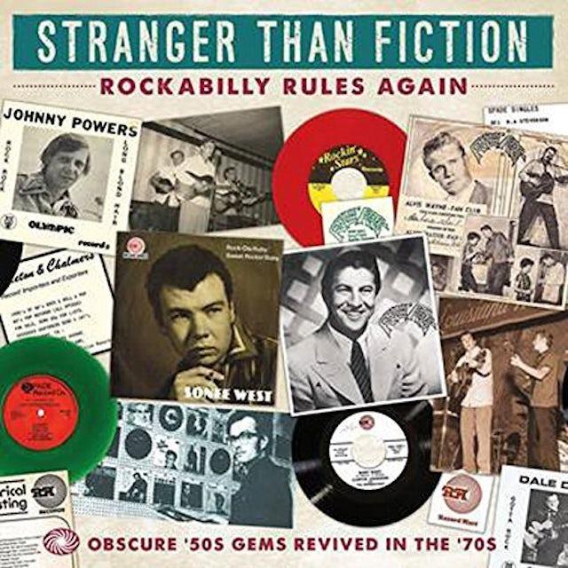 STRANGER THAN FICTION: ROCKABILLY / VARIOUS