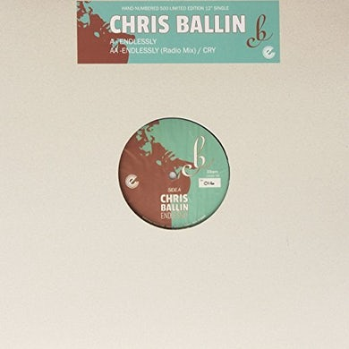 Chris Ballin ENDLESSLY / CRY Vinyl Record