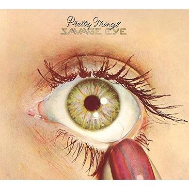 The Pretty Things SAVAGE EYE CD