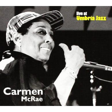 Carmen McRae LIVE AT UMBRIA JAZZ CD