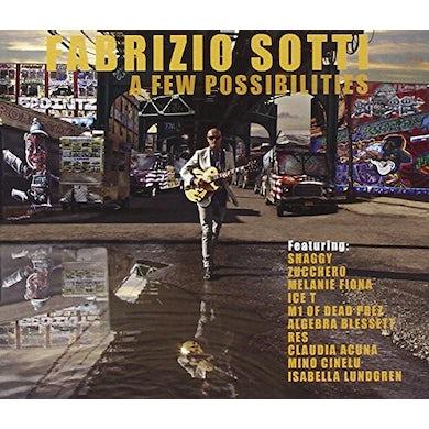 Fabrizio Sotti FEW POSSIBILITIES CD