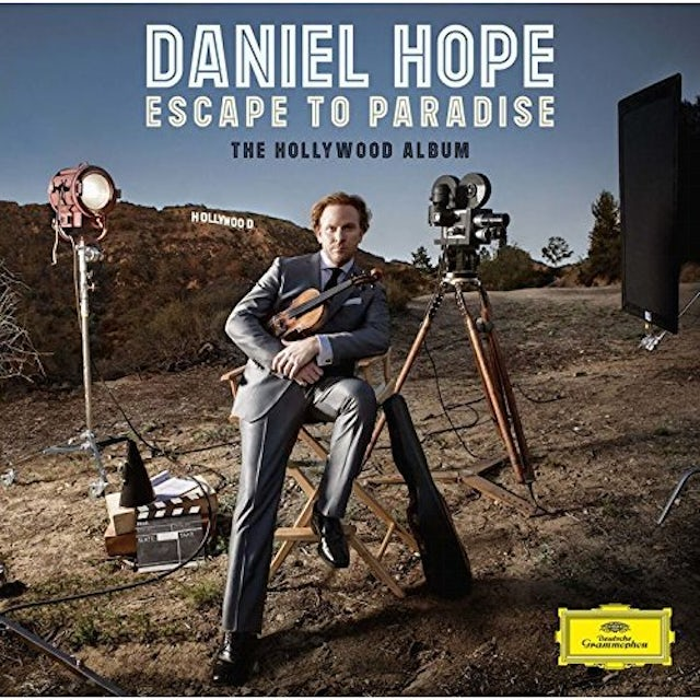 Daniel Hope ESCAPE TO PARADISE THE HOLLYWOOD AL CD