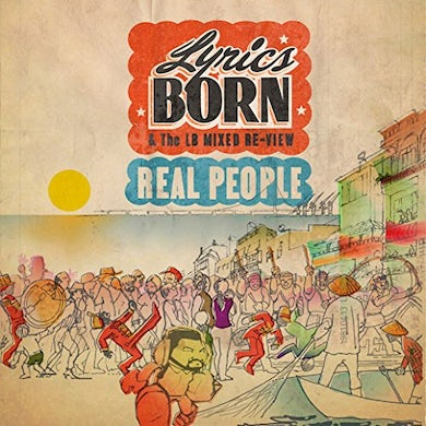 REAL PEOPLE Vinyl Record