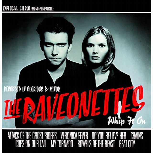 The Raveonettes WHIP IT ON CD