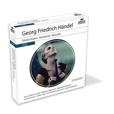Anne Sofie Von Otter ELOQ: HANDEL (GIULIO CESARE/ARIODANTE/HERCULES) CD