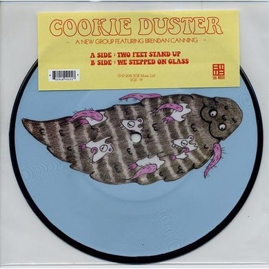 Cookie Duster TWO FEET STAND UP Vinyl Record