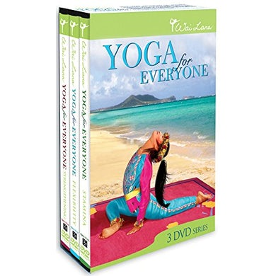 Wai Lana YOGA FOR EVERYONE TRIPACK DVD